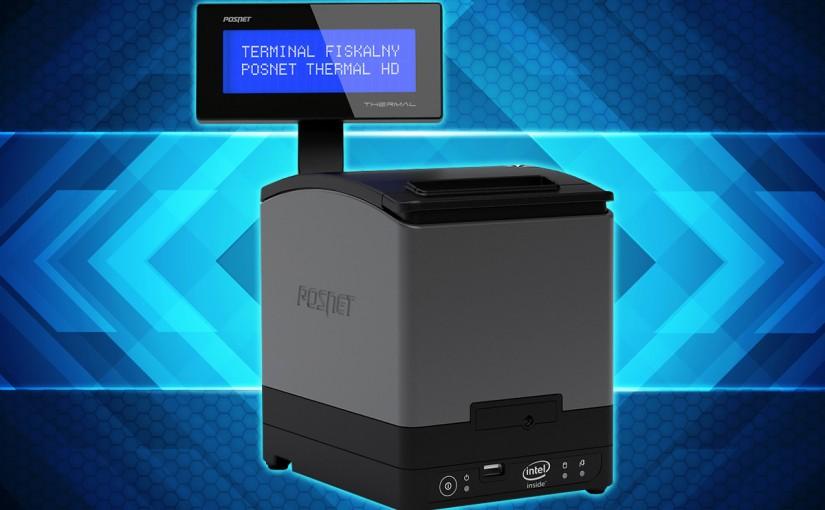 terminal fiskalny Posnet Thermal HD