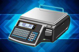 Waga elektroniczna z mechanizmem drukującym etykiety